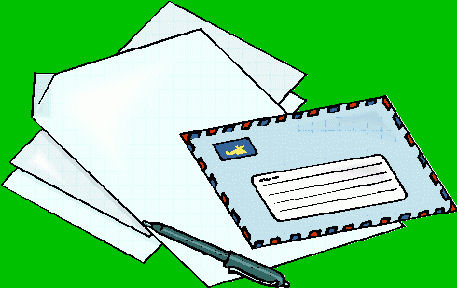 Letters Mail Drawing